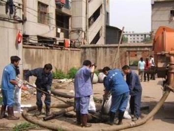 市政下水管道淤泥疏通具体工序及流程